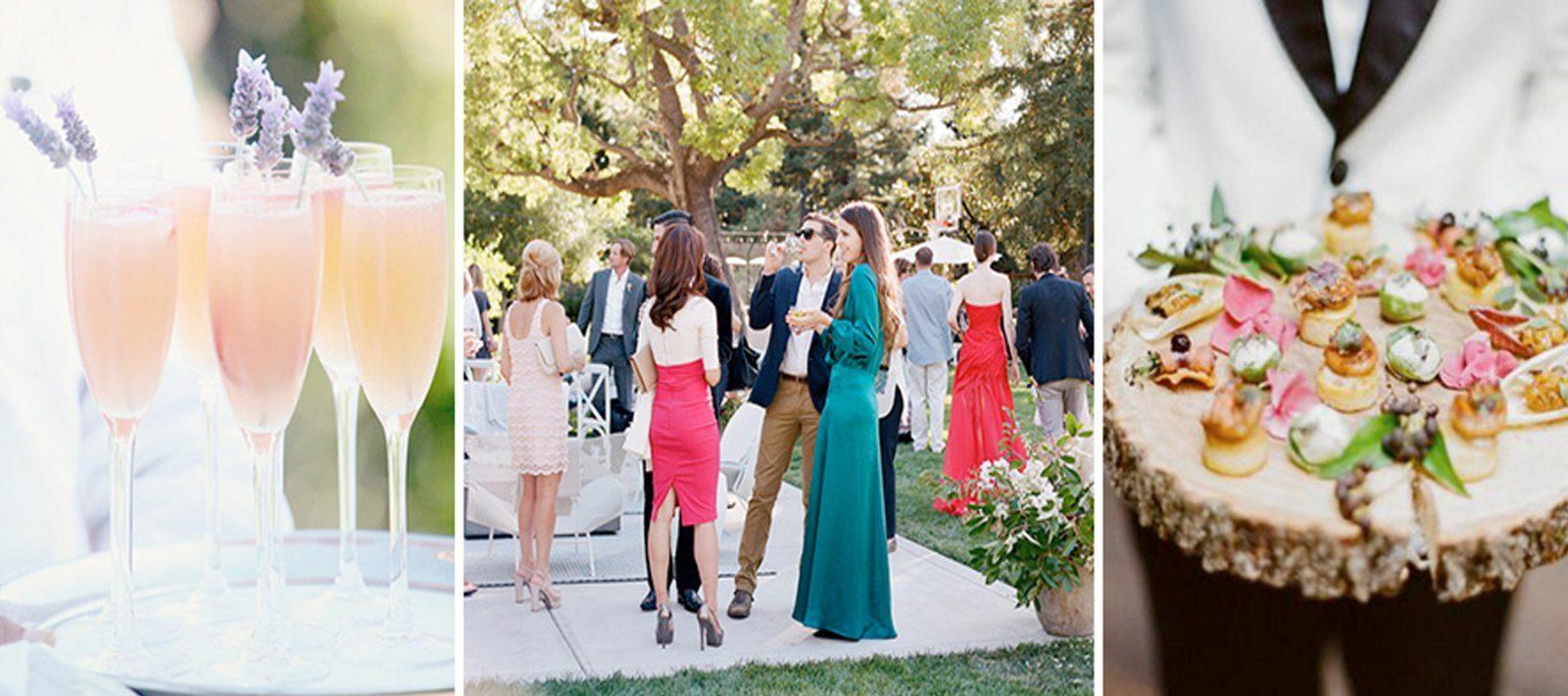 Cóctel de bienvenido, ideal para que tu boda en la playa sea un éxito