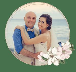 Paquetes de bodas en la playa - novios