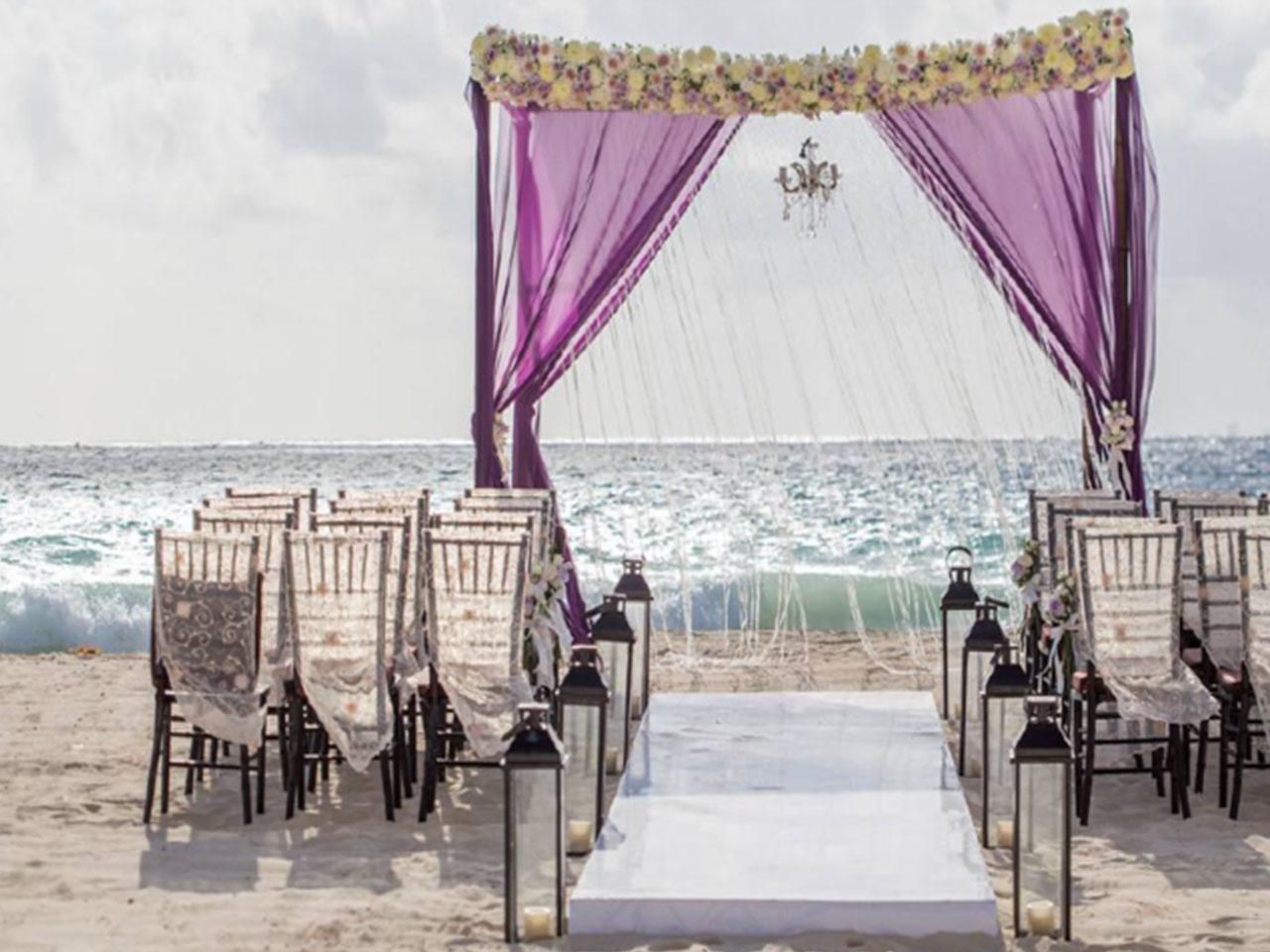 Bodas en la playa paquetes - boda
