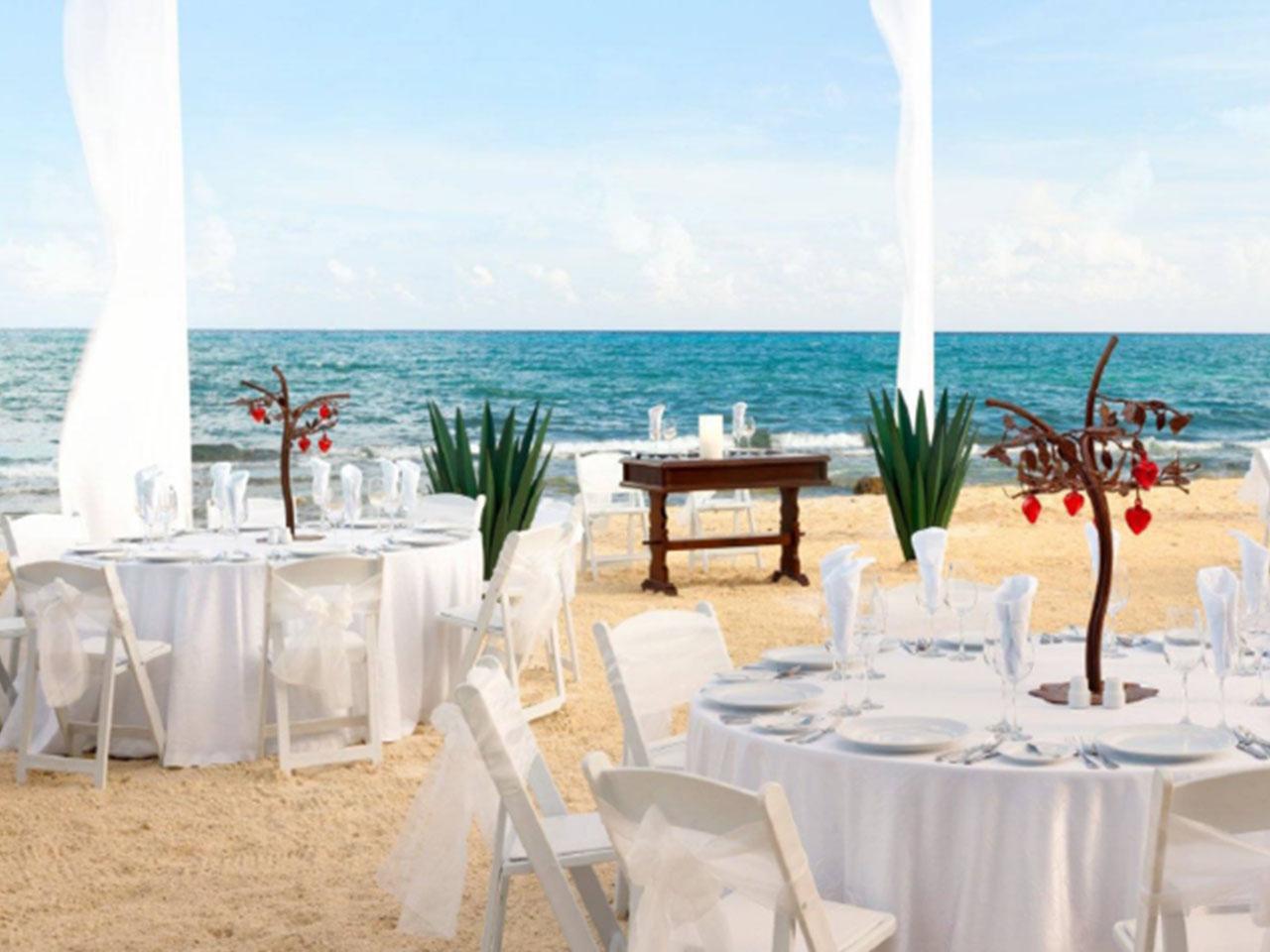 wedding Planner en Monterrey, Boda en la playa, Las mejores bodas en la playa en México -Paquete: Mi gran boda en la playa