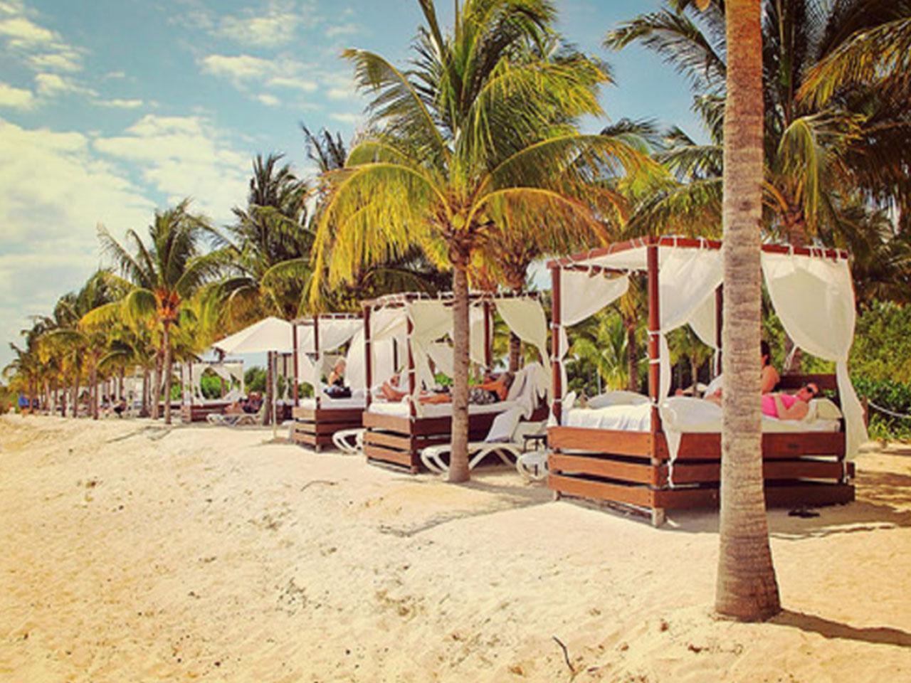 Bodas en la playa paquetes - decoración de playa