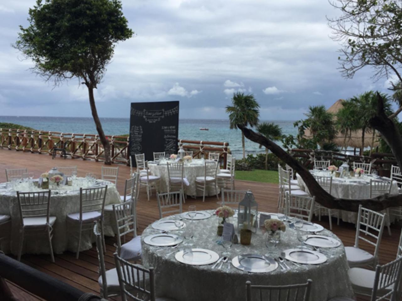 Bodas en la playa - Mesas y sillas