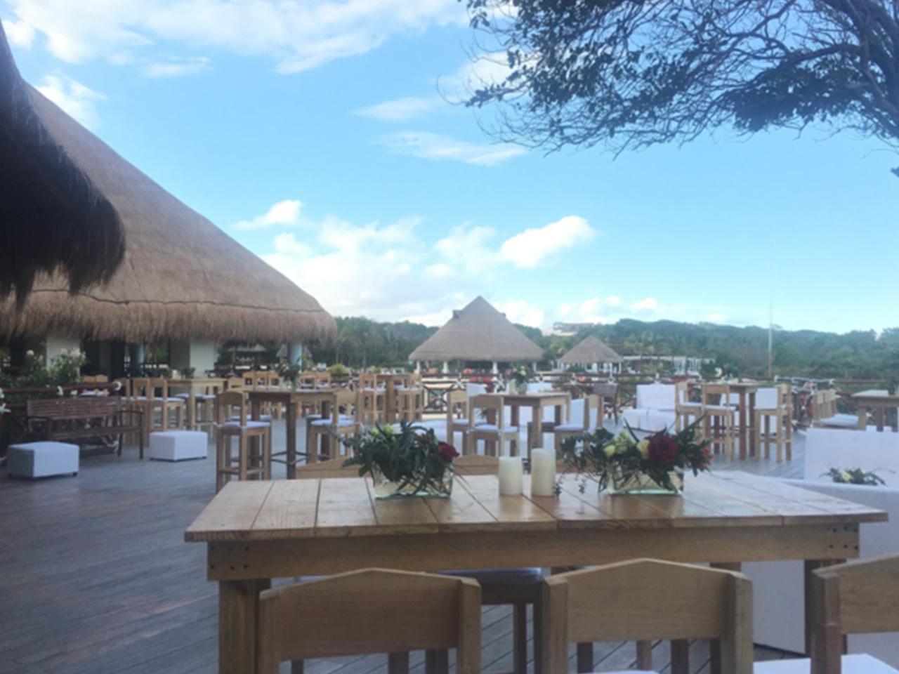 Bodas en la playa - Restaurante