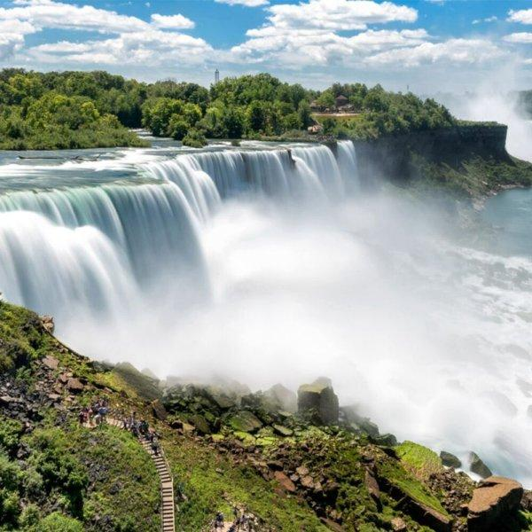 Canadá, cataratas y chicago turista