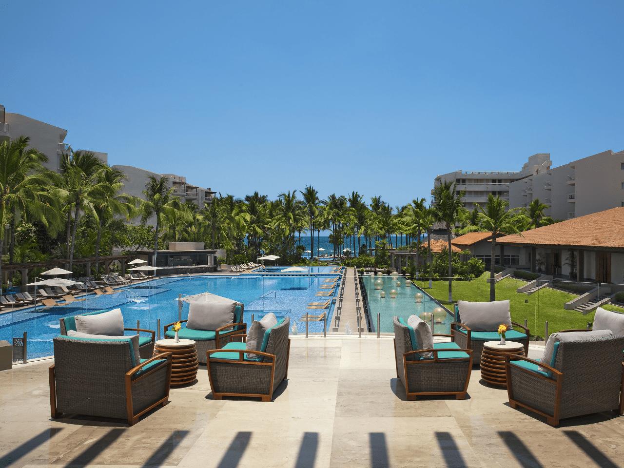 Vista de hotel - Bodas en la playa