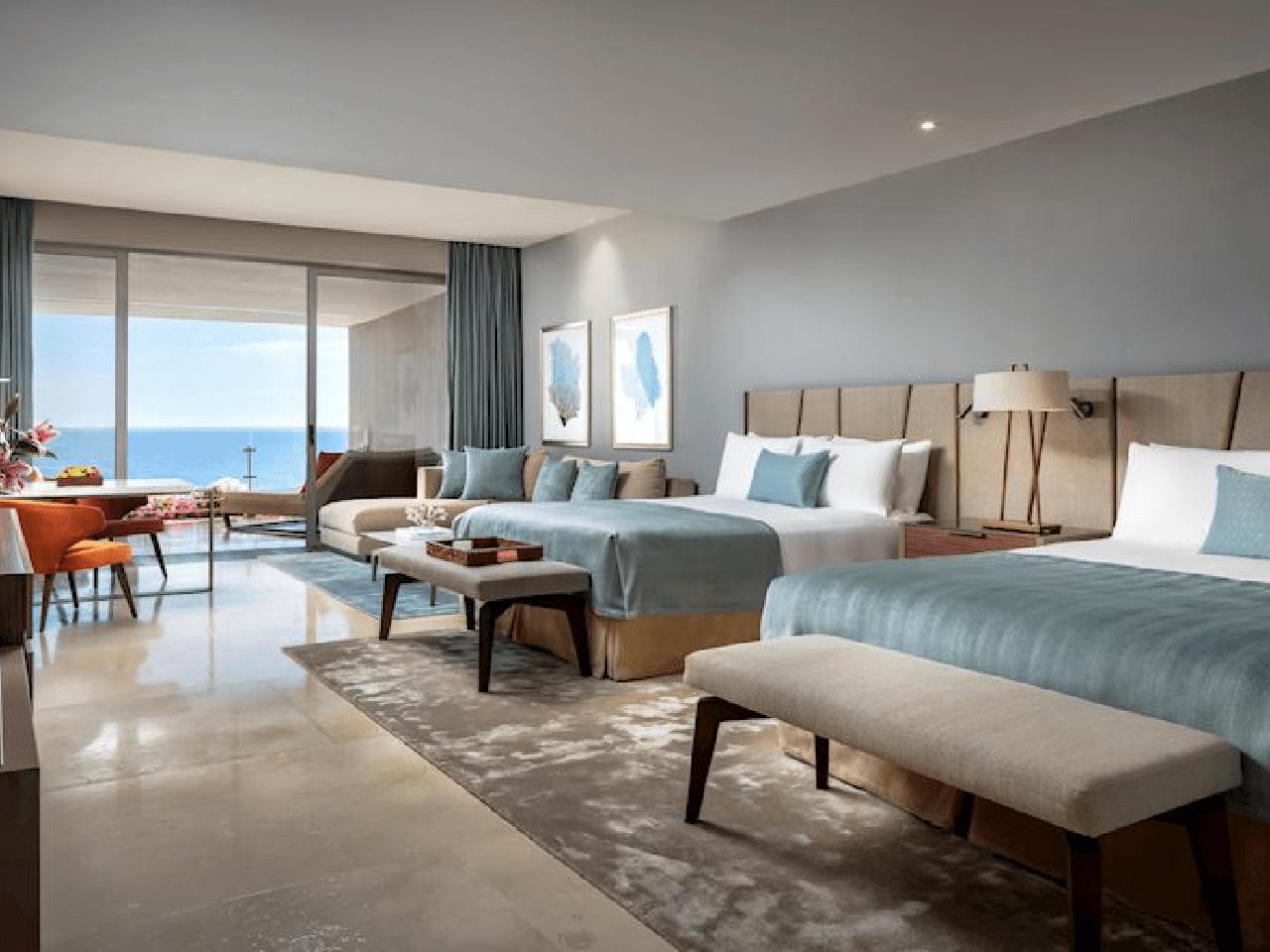 habitación de hotel- Bodas en la playa