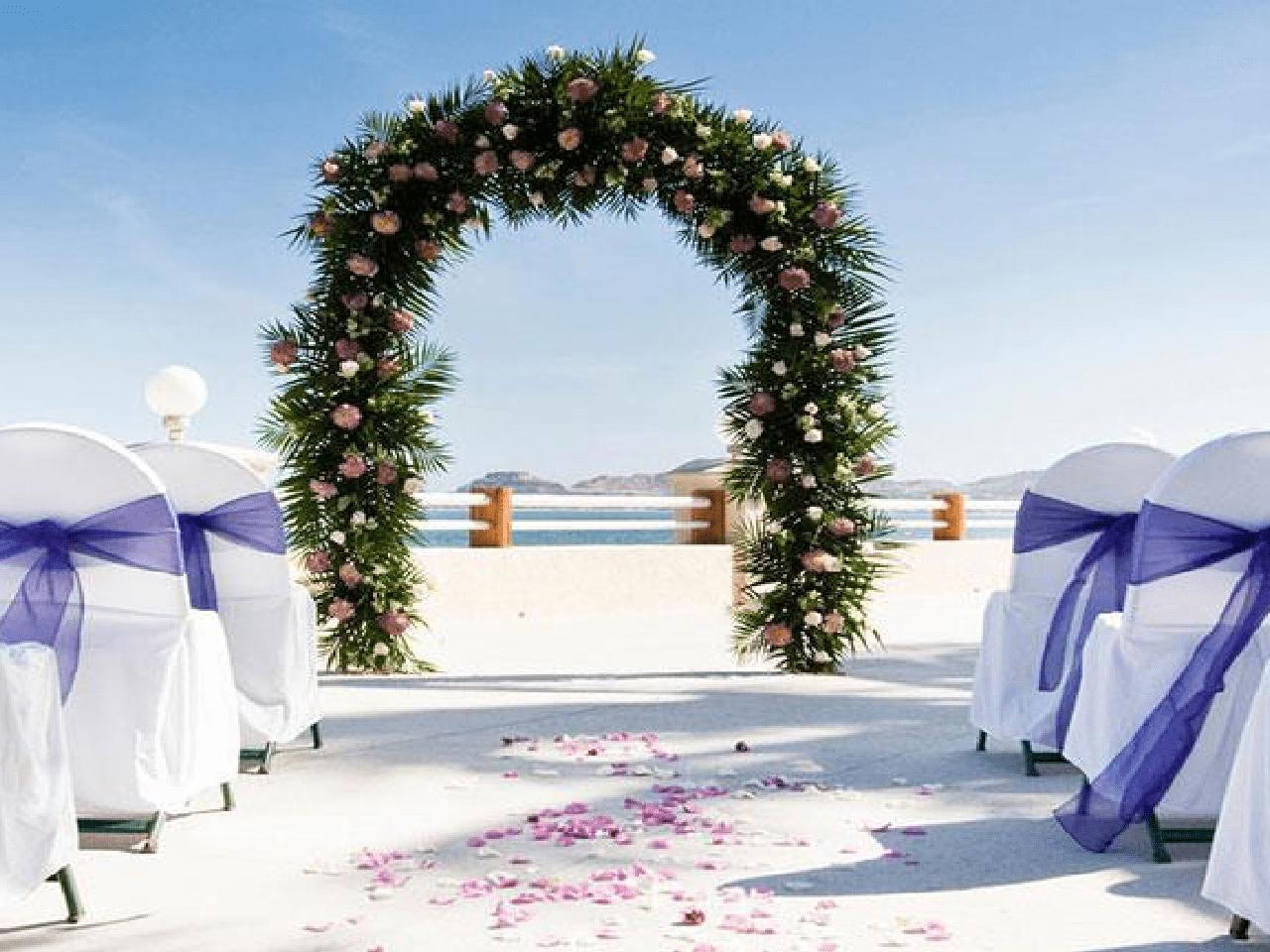 Bodas en la playa - arco d eboda