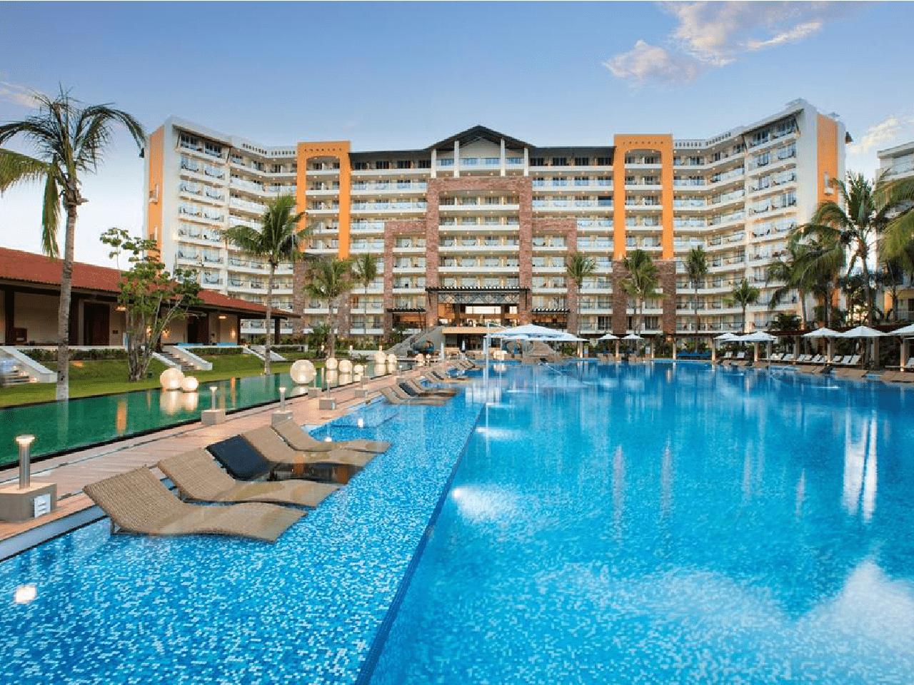alberca de hotel - Bodas en la Playa
